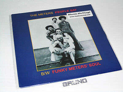 "7"" Single: The Meters - People Say, Limited Edition, NEU & OVP"