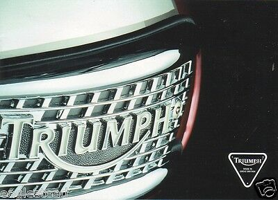 Motorcycle Brochure - Triumph - Product Line Overview - c1996 - Grill (DC167)