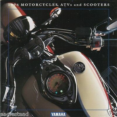 Motorcycle Brochure - Yamaha - Product Line incl ATV Scooter - 1996 (DC173)