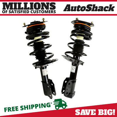 Pair Of 2 Front Quick Install Complete Strut Assemblies fits Buick Chevy Pontiac