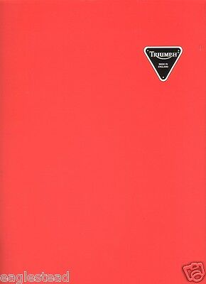 Motorcycle Brochure - Triumph - Product Line Overview - Elaborate c1994 (DC178)
