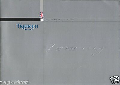 Motorcycle Brochure - Triumph - Touring Models - 2003 (DC186)