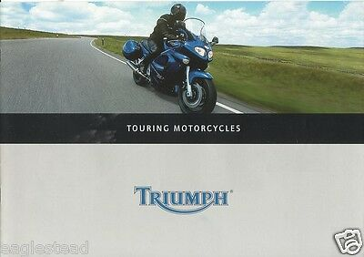 Motorcycle Brochure - Triumph - Touring Models  (DC189)