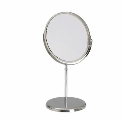 IKEA Make up Shaving Mirror Stainless Steel Magnifying TRENSUM-NEW