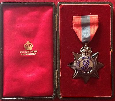 GREAT BRITAIN / Imperial Service Order Edward VII - small loss to enamel.