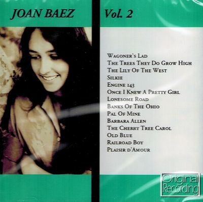 CD NEU/OVP - Joan Baez - Vol. 2