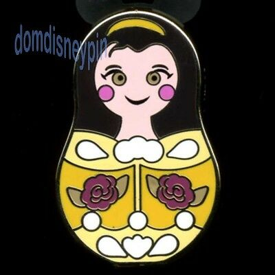 Disney Pin *Nesting Dolls* w/ Icons Mystery Series - Beauty Belle w/ Roses!