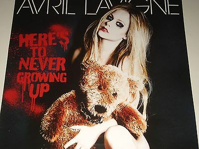 Avril Lavigne HERE'S TO NEVER GROWING UP Taiwan Promotional POSTER