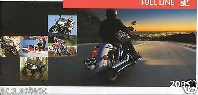 Motorcycle Brochure - Honda - Product Line Overview incl ATV Scooter 2005 (DC193