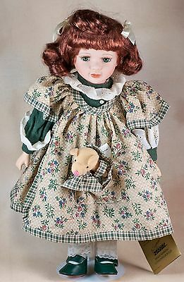 1999 Betsy Seymour Mann Connoisseur Collection Porcelain Doll With Tags