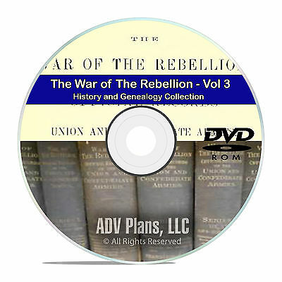 The Civil War of the Rebellion, The Original History Books Volume 3 DVD CD V88