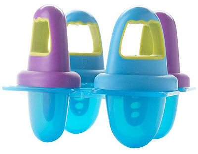 Annabel Karmel by NUK 4 ICE LOLLY MOULDS Baby/Child/Kids Feeding Accessory - New