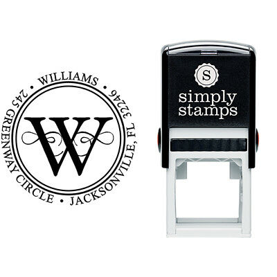 Personalized Return Address Stamp - Customized Stamp - Ideal 400R