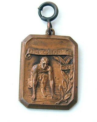 Copper Jaycees Hundred Yard Dash Medal 1925