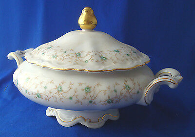 Mitterteich Lady Patricia round covered vegetable bowl tureen with lid