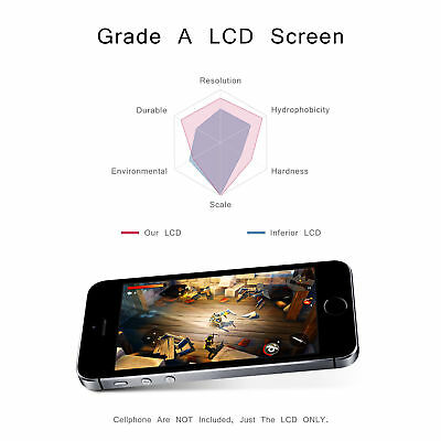 For iphone 4 4S LCD Touch Digitizer Screen Assembly Replacement Housing AU