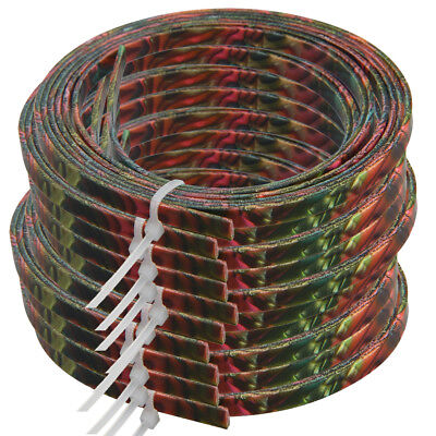 10pcs Colorful Celluloid Guitar Binding Purfling Body Project Strip 1650x5x1.5mm