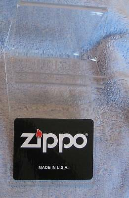 2 ZIPPO  EASEL Molded  Acrylic INDIVIDUAL DISPLAY  New