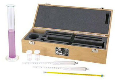 New Kinsler Fuel Analyzer Kit For Gas & Alcohol For Specific Gravity,Hydrometers