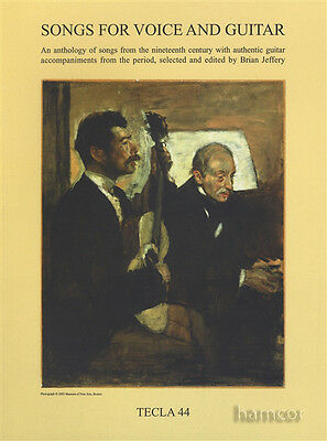 Songs for Voice and Classical Guitar Sheet Music Book