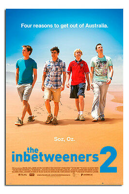 The Inbetweeners 2 Movie Poster Official Licensed Maxi Size 36 x 24 Inch - New