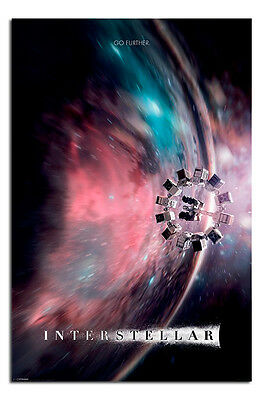 Interstellar Movie Official Poster - Go Further - New - Maxi Size 36 x 24 Inch