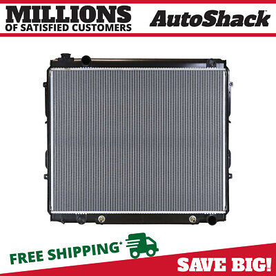 New Premium Complete Direct Fit Aluminum Radiator fits 00-06 Toyota Tundra 4.7L
