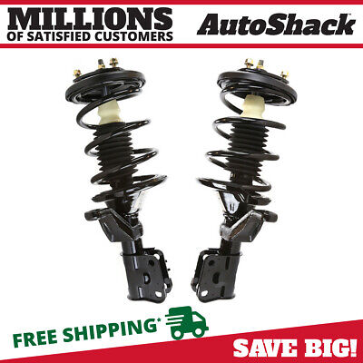 2 Quick Install Complete Strut Assemblies Front Pair Fits 01-05 Honda Civic