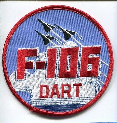 CONVAIR F-106 DELTA DART USAF FIS INTERCEPTOR FIGHTER SQUADRON PATCH