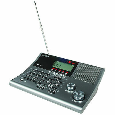 Uniden Bearcat UBC 360CLT Desktop Scanner With Up To 300 Channels Included New