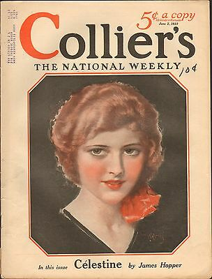 JUNE 2 1923 COLLIERS vintage magazine PRETTY LADY