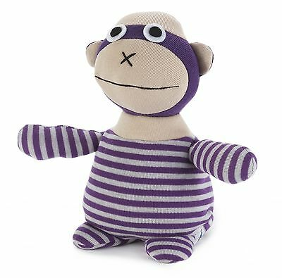 Intelex Microwavable Flunky The Monkey Socky Doll Heatable Real Sock Material