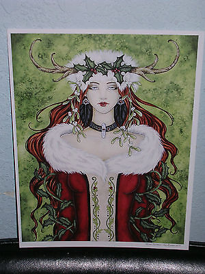 Amy Brown - Winter Solstice - OUT OF PRINT