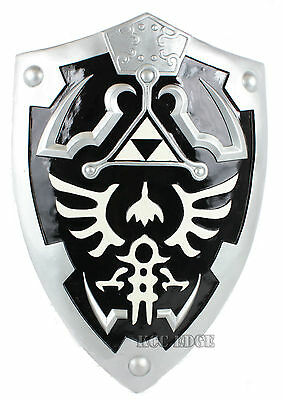 1:1 LARGE Black Link's Hylian Shield Legend of Zelda Thanksgiving Xmas Decor