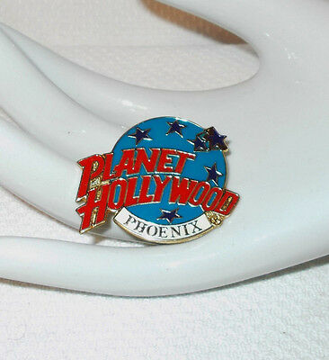 PLANET HOLLYWOOD PHOENIX ARIZONA LAPEL HAT PIN