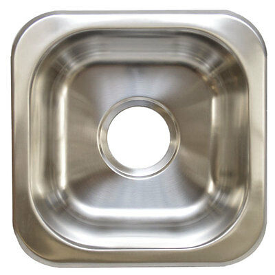 CARVER / MARQUIS 6203718 OPELLA 13209 STAINLESS BOAT UNDERMOUNT DROP IN SINK
