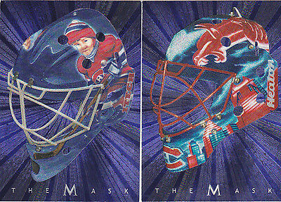 01-02 BAP Jose Theodore The Mask Between The Pipes Montreal Canadiens 2001