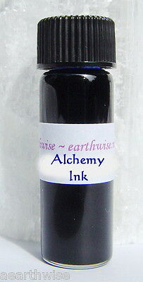 ALCHEMY INK - SPELL WRITING Wicca Witch Pagan Goth Occult WRITING PETITIONSBlue