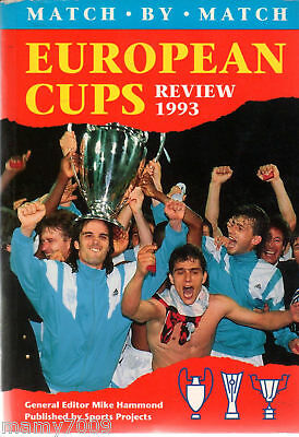 European Cups Review 1993=Match By Match=384 Pagine=In Inglese
