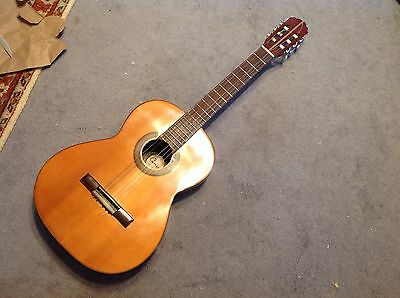 Vintage 1970's Cameo Acoustic Guitar,  6 String 3/4 Guitar