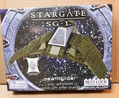 Stargate SG-1 Best-Lock Construction Toy Deathglider  100+ pieces works w/lego