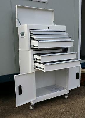 196 US PRO TOOLS AFFORDABLE TOOL CHEST BOX BOX ROLLCAB TOOL BOX ROLLER CABINET