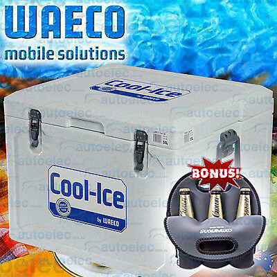 55L Litre Ice-Box Waeco Cool-Ice Cooler Icebox Wci-55 Car Boat Fishing + Bonus