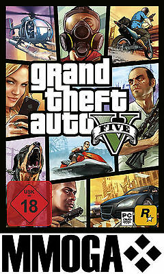 GTA 5 - Grand Theft Auto V Key - PC Digital Download Code NEU [Action][DE/EU]