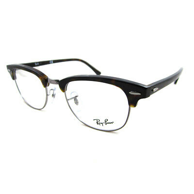 Ray-Ban Glasses Frames 5154 Clubmaster 2012 Dark Havana 49mm