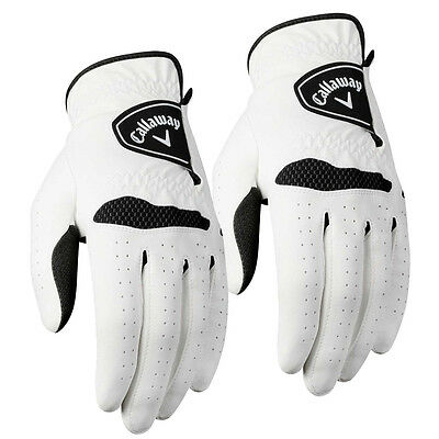 Twin Pack- Callaway Xtreme 365 Mens Golf Gloves Left Hand **PACK of 2**