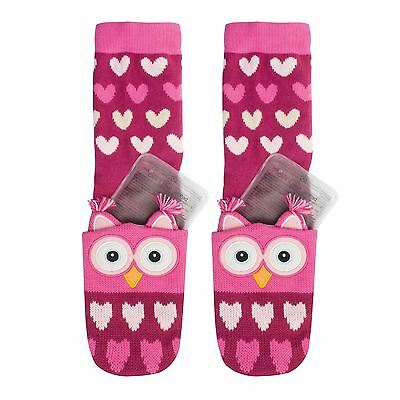 Aroma Home Owl Click and Heat Cosy Socks