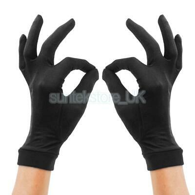 Thin Pure Silk Liner Inner Gloves Thermals for Skiing Running Biking Motorcycle