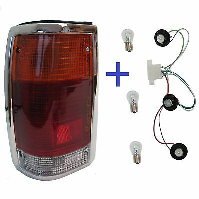 Rear Light Mazda for B2000 b2200 1985 tail lamp chrome pickup truck LH N/S New