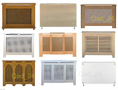 Radiator Cover Shelf Cabinet Heater Wooden Modern Traditional Unit Large S M L